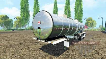 Semitrailer réservoir pour Farming Simulator 2015