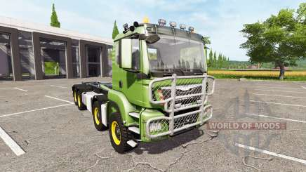MAN TGS 8x8 hooklift für Farming Simulator 2017