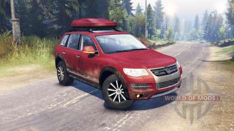 Volkswagen Touareg (7L) pour Spin Tires