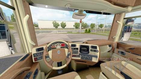 Das Interieur des Renault trucks für Euro Truck Simulator 2