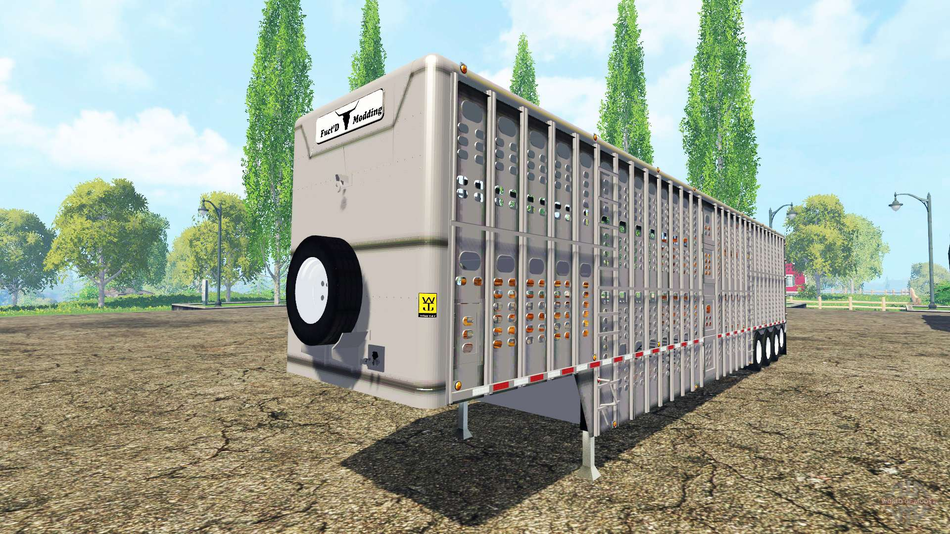 Farming simulator 2015 trailer 4 / Marguerite volant trailer