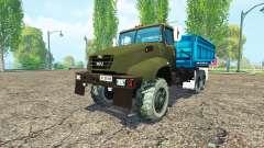 Le KrAZ B18.1 agricole surnom