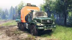Mercedes-Benz Zetros 2733 A v4.0 pour Spin Tires