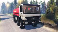 Mercedes-Benz Actros (MP2) 8x8 v1.0 für Spin Tires