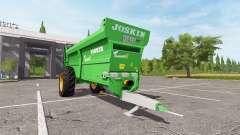 JOSKIN Tornado3 pour Farming Simulator 2017