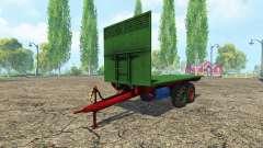 Eigenbau Ballenwagen