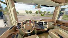 Les intérieurs de Renault trucks