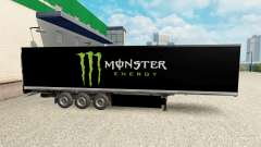 La peau Monster Energy pour le semi