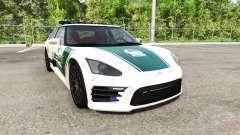 Hirochi SBR4 Dubaian Police pour BeamNG Drive