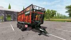 JOSKIN DRAKKAR 8600 flame pour Farming Simulator 2017