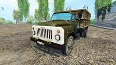 GAZ 53 grün