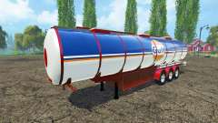 Carburant semi-remorque