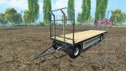 Fliegl bales trailer für Farming Simulator 2015