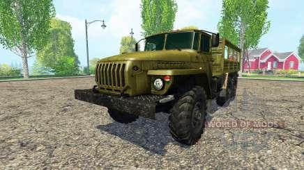 Ural 4320 pour Farming Simulator 2015