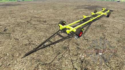 Anhänger für CLAAS Mähdrescher für Farming Simulator 2015