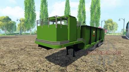 Separarately remorque pour Farming Simulator 2015