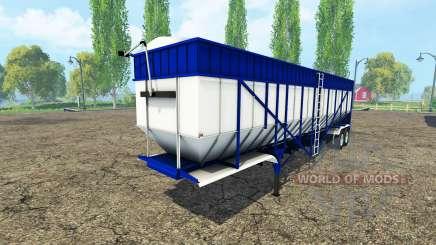 Tipper semi-trailer v3.0 pour Farming Simulator 2015