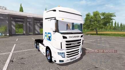 Scania R700 Evo AB Texel für Farming Simulator 2017