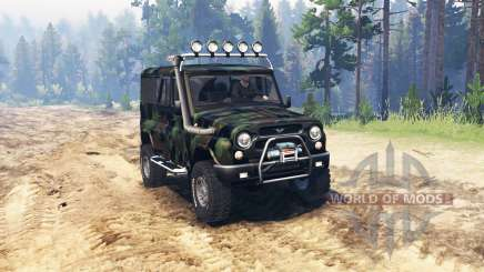 UAZ 3153 Expedition für Spin Tires