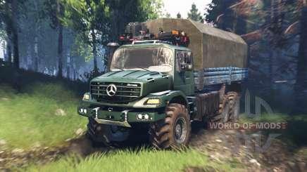 Mercedes-Benz Zetros 2733 A v5.0 für Spin Tires