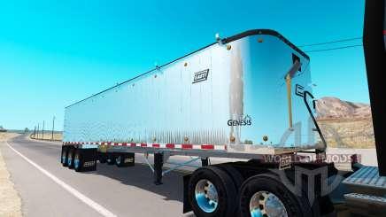 Benne semi-remorque pour American Truck Simulator