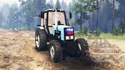 MTS Belarus 1221.2 für Spin Tires