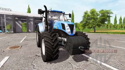 New Holland T7.185 für Farming Simulator 2017