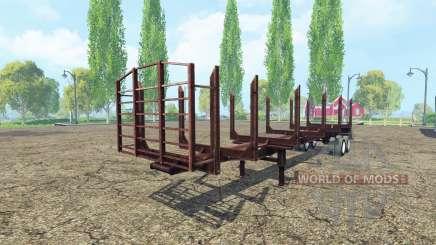 La journalisation de la semi-remorque pour Farming Simulator 2015