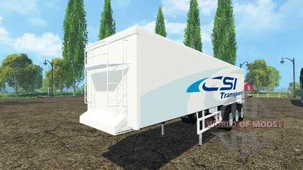 Kroger Agroliner SRB3-35 CSI Transport pour Farming Simulator 2015