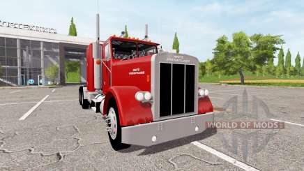 White-Freightliner Conventional pour Farming Simulator 2017