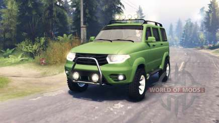 UAZ Patriot 3163 dns_event_unknown_service_port pour Spin Tires