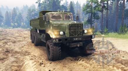 KRAZ 255 für Spin Tires