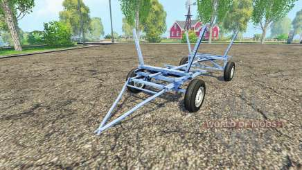Homemade small trailer pour Farming Simulator 2015