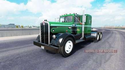La peau sur le Palmer Trucking LLC camion Kenworth 521 pour American Truck Simulator