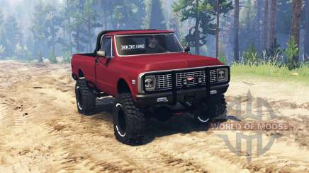 Chevrolet C10 Cheyenne 1972 pour Spin Tires