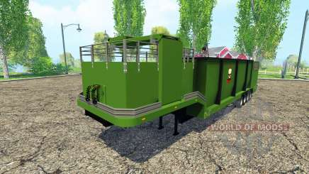 Separarately semi-trailer v1.1 für Farming Simulator 2015