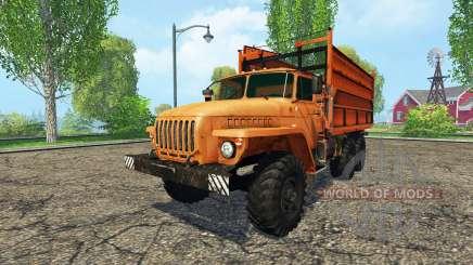 Oural 5557 agricole surnom de l' pour Farming Simulator 2015