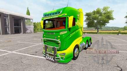 Scania R1000 John Deere v2.0 für Farming Simulator 2017