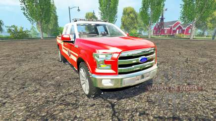 Ford F-150 Division of Fire pour Farming Simulator 2015