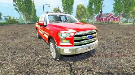 Ford F-150 Division of Fire für Farming Simulator 2015