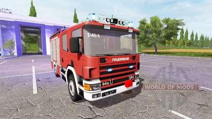 Scania 94D 260 Feuerwehr für Farming Simulator 2017