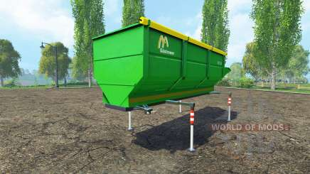 Gustrower GTU 25 pour Farming Simulator 2015
