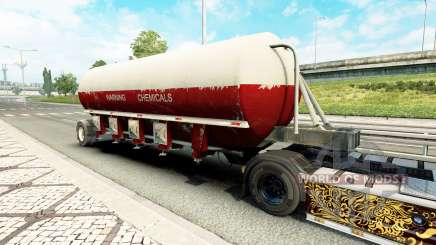 Une collection de remorques v2.0 pour Euro Truck Simulator 2