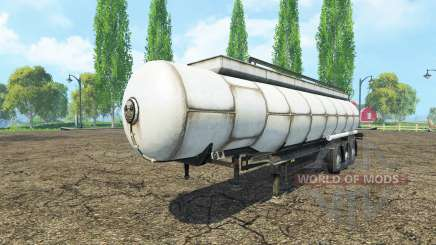 Semitrailer tank pour Farming Simulator 2015