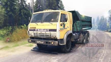 KamAZ-55118 für Spin Tires