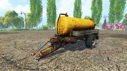 Tank manure für Farming Simulator 2015