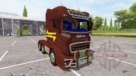 Scania R1000 3-axis für Farming Simulator 2017
