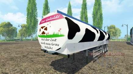 Molokovozy semi-remorque Fliegl v0.9 pour Farming Simulator 2015