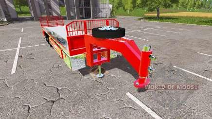 Semi-trailer platform pour Farming Simulator 2017