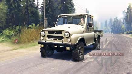 UAZ 2315 für Spin Tires